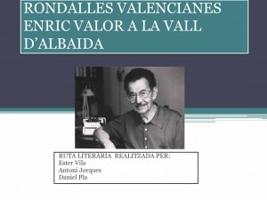 VAll Albaida_Rondalles