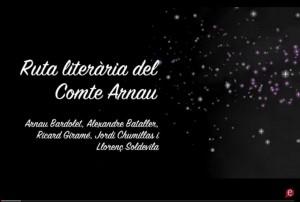 Ruta Literària Comte Arnau