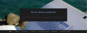 web ruta magí sunyer