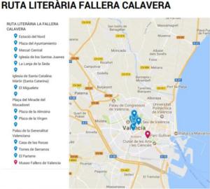 Mapa Fallera Calavera