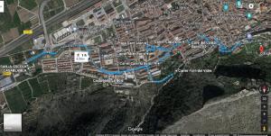 La Xàtiva de Toni Cucarella - ruta
